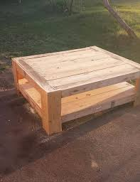 Pallet Coffee Tables Upcycled Wood Pallet Coffee Table