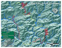 Michaux State Forest Map by Red Clay Greenway Hudson Geography