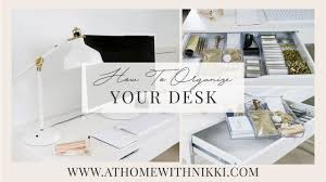 home organizing desk organization ideas how to organize your