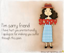 sorry cards friends sorry cards uploaded by mini on we heart it