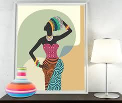 african woman african wall art african wall decor black woman african woman african wall art african wall decor black woman african print south african art african designs