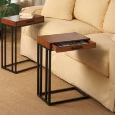 small tables for living room tray table with drawer that fits over arm of couch for all the use