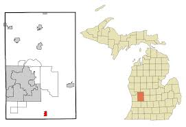 Michigan Fall Color Map by Caledonia Michigan Wikipedia