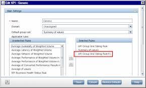 how to create a kpi assignment using an api rule u2013 use case scenario