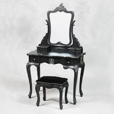 Vanity And Stool Set Best 25 Black Dressing Tables Ideas On Pinterest Black Vanity