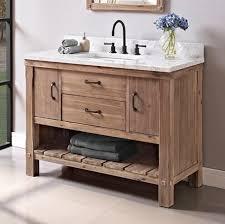 fairmont designs bathroom vanities napa 48 open shelf vanity sonoma sand fairmont designs