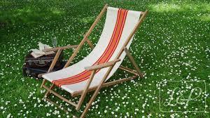 chaise longue transat transat chaise longue chilienne vintage meubles et rangements