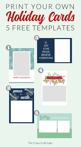 printable holiday card templates free free christmas card templates the crazy craft lady