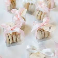 macaron wedding favors pink macaron wedding reception favors tree studios http