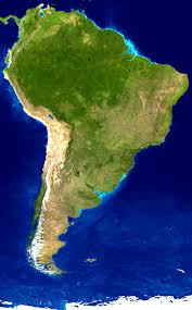 Map Of South America In Spanish by Learn Spanish Directory