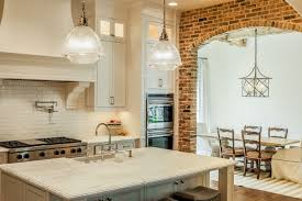 kitchen design cool awesome rustic brick backsplash kitchen sage