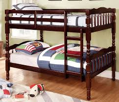 Buy Furniture Of America CMBKEX Catalina TwinTwin Bunk Bed - Furniture of america bunk beds