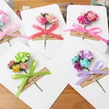 pet cards korean cards handmade flowers teachers day birthday diy