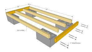how to build a floor for a house backyard diy outdoor firewood shed plans with cinder block base
