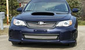 subaru wrx all black 2011 14 subaru wrx grill insert kit by customcargrills