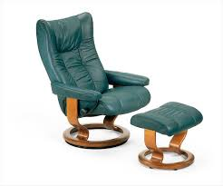 the stressless wing leather recliner