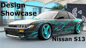 Paint Design by Forza Horizon 3 Ucxt Nissan S13 Flame Team Paint Design