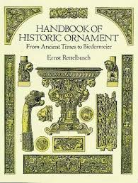 handbook of historic ornament dover pictorial archive ernst