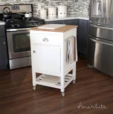 small movable kitchen island ana white how to small kitchen