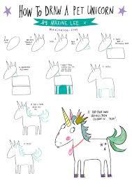 draw unicorn how to draw unicorn fairy drawings doodles