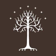 white tree of gondor white lord of the rings mug teepublic