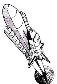 columbia rocket ship space shuttle coloring download
