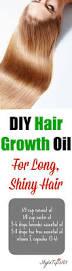 diy hair growth oil for super long shiny hair