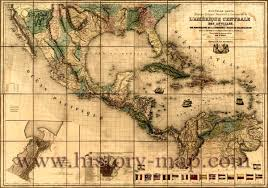 Old Map Of Mexico by Map Of West Indies