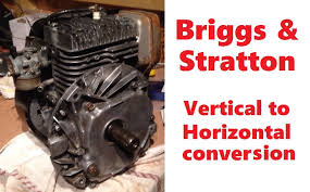 briggs u0026 stratton vertical to horizontal conversion for go kart or