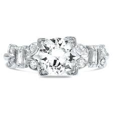 diamond vintage ring art deco antique vintage cut diamond