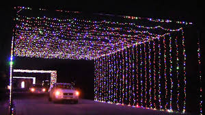 drive by christmas lights prairie lights opens its two mile drive through christmas light