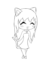 draw cute chibi coloring pages 73 free coloring kids cute