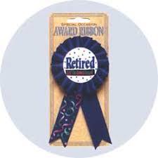 ra ribbon retirement gift award ribbon