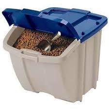 Food Container Storage Dog Food Container Storage Bin Lbs Pet Cat Feeding Animal Awesome