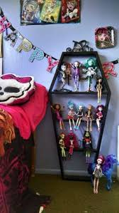 monster high display cabinet paint nana u0027s curio pink i think