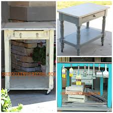 Kitchen Island Or Table by Upcyle Your Old Tables To Rolling Islands Or Kitchen Carts Just By
