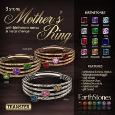 3 mothers ring second marketplace earthstones s ring 3 gift box