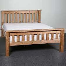 Solid Pine Bed Frame Realwoods Solid Pine Bed The Hardwick Single King