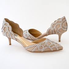wedding shoes sale badgley mischka ginny low heel evening shoes on sale