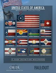 Flags Of The United States Fallout United States Of America Collection By Okiir On Deviantart