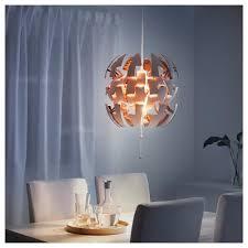 Wohnzimmerlampe Anklemmen Ikea Ps 2014 Hängeleuchte Weiß Kupferfarben Ikea