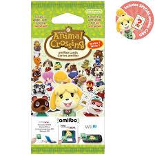 animal crossing amiibo cards pack series 1 nintendo uk store