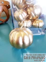 pearl vase fillers gold pumpkin vase filler pottery barn knock off