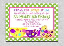 birthday party rsvp arts and crafts birthday party invitation art birthday