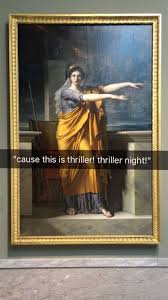 Modern Art Meme - people are meme ifying history with funny museum snapchats