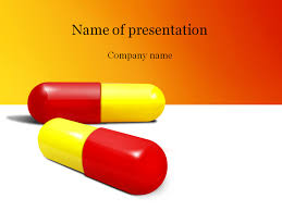 pills powerpoint template u0026 background for presentation