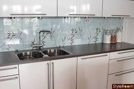 kitchen glass wallpaper backsplash kitchen pinterest