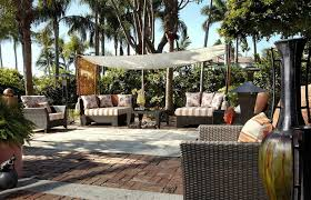 Sail Cloth Awning Patio Shade Sails Patio Tropical With Awning Basketweave Pattern