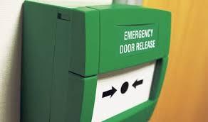 break glass door release kac green emergency break glass unit comsec