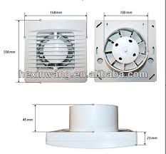 New  Mm Bathroom Extractor Wall Window  Kitchten Exhaust Fan - Bathroom fan window